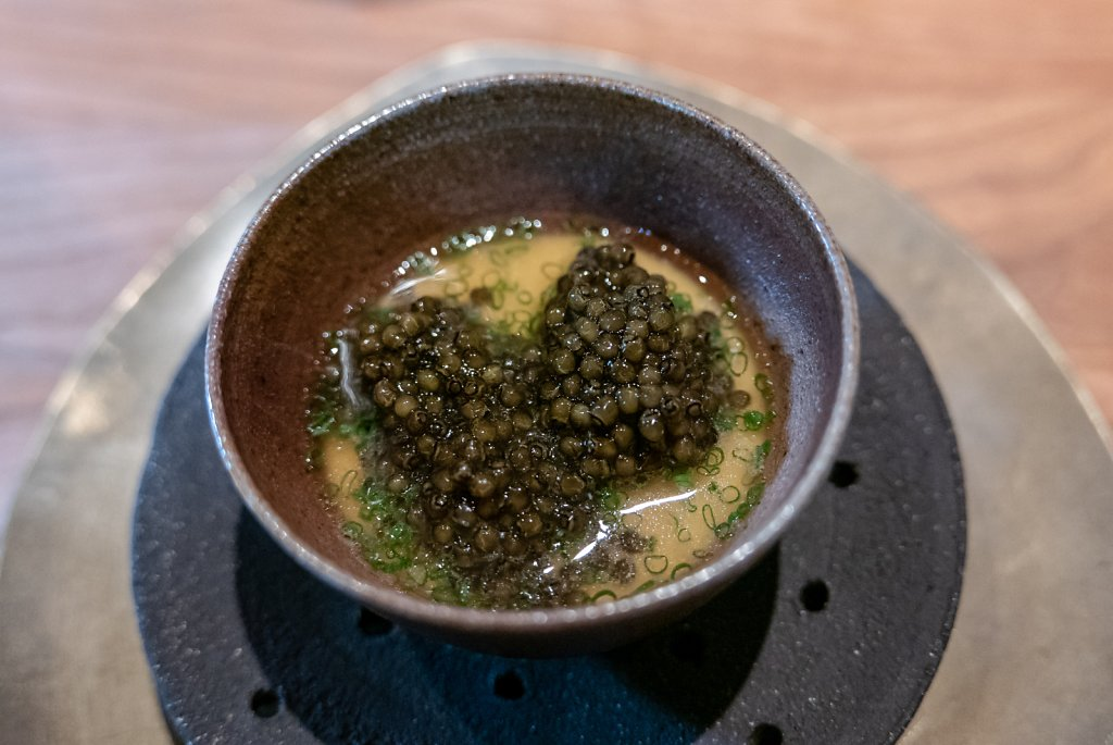 Chawanmushi & prestige caviar